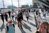 A Paris, au cœur des défilés, la colère contre le passe sanitaire, la haine contre Emmanuel Macron