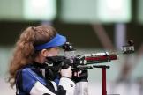 Océanne Muller a terminé 5e de la finale du tir à la carabine à 10 m.