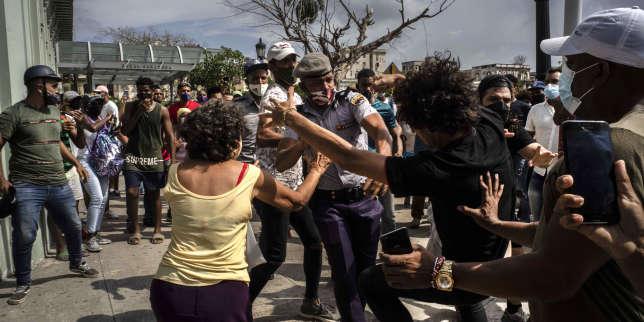 Après les manifestations, la peur à Cuba, «pays de douleur»