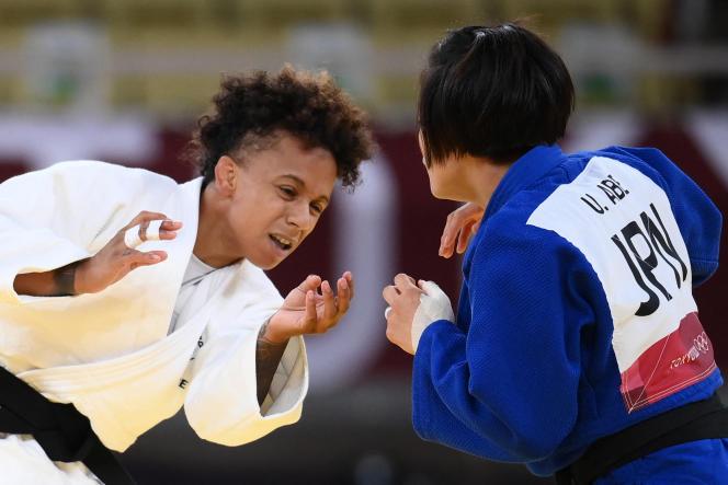 La finale entre Amandine Buchard et la Japonaise Uta Abe était l'affiche que tout le monde attendait en -52 kg.