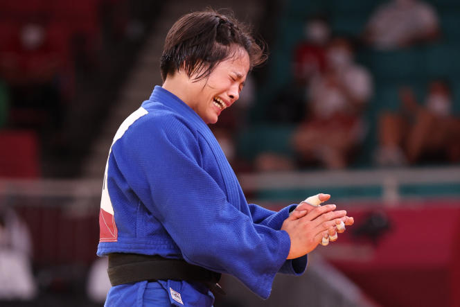 Uta Abe ajoute une médaille d'or olympique à son palmarès.