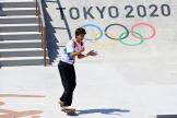 Yuto Horigome peut exulter : il a remporté le premier titre olympique de l'histoire du skate.
