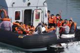 Les traversées de la Manche en «small boats» en nette augmentation