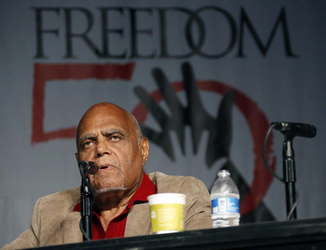 Robert Moses, June 26, 2014, during the 50th anniversary of the Independence Summer in Jackson, Mississippi (USA).