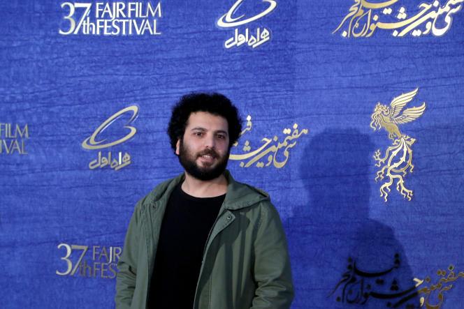 Le réalisateur iranien Saeed Roustayi, lors de la 37e édition du Festival du film de Fajr, àTéhéran, en février 2019.