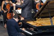 Vadym Kholodenko, samedi 24 juillet 2021 en concert au Festival international de piano de La Roque-d'Anthéron (Bouches-du-Rhône).