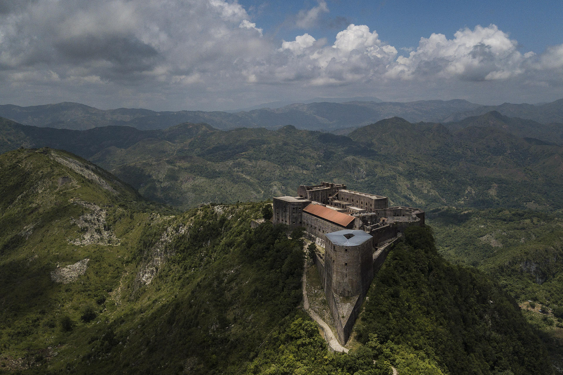 La citadelle de Milot, qui date du XIXe siècle, au sud de Cap-Haïtien, à Haïti.