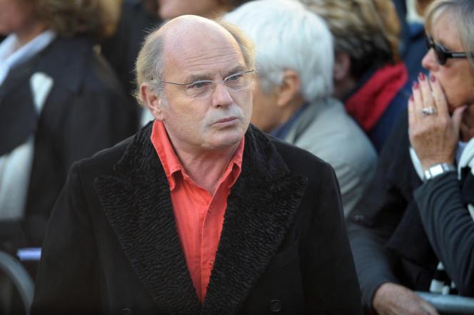 L'acteur et réalisateur Jean-François Stévenin, à Paris, le 17 octobre 2008.
