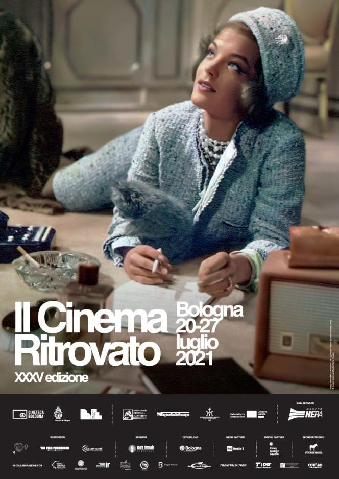 Locandina della 35^ edizione del Festival Il Cinema ritrovato di Bologna.