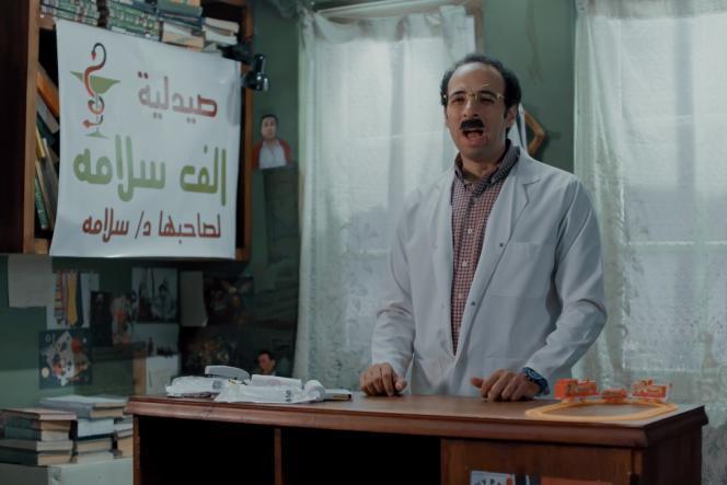 Le youtubeur égyptienAhmed El-Ghandour lors d'une de ses vidéos, en juillet 2021.