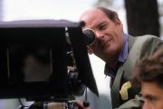 Sur le tournage de « Sushi Sushi» de Laurent Perrin, en 1991.