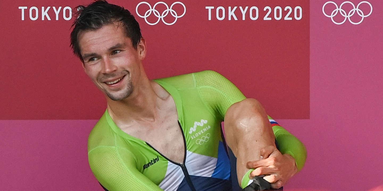 JO de Tokyo 2021 : Primoz Roglic soigne ses blessures du Tour avec le titre olympique du contre-la-montre