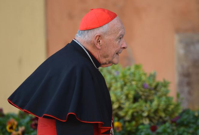 Kardynał Theodore McCarrick w Watykanie, marzec 2013.
