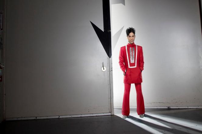 Prince, lors de sa tournée 2011 aux Etats-Unis.