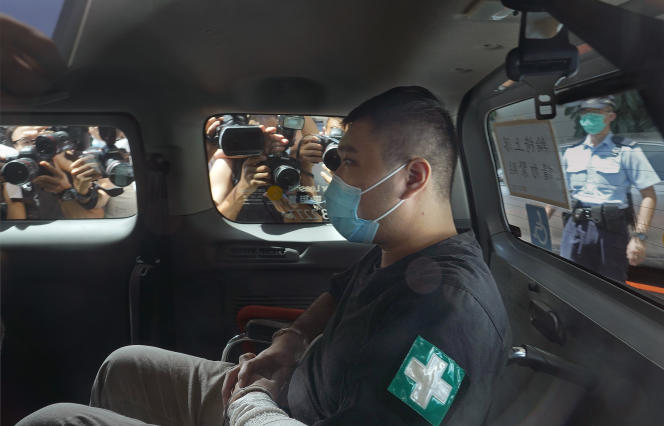 Dong Ying-Kid was transferred to court on July 6, 2020.