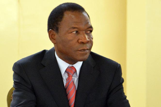 François Compaoré à Ouagadougou, en 2012.