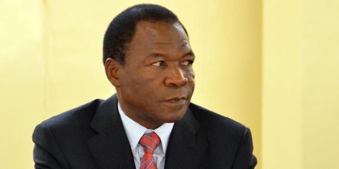 Francois Compaore, en 2012 à Ouagadougou