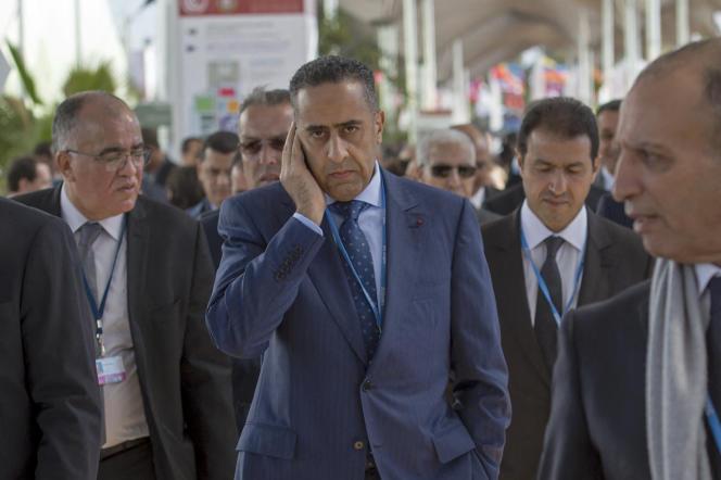 Abdellatif Hammouchi lors de la conférence sur le climat COP22, le 8 novembre 2016 à Marrakech.
