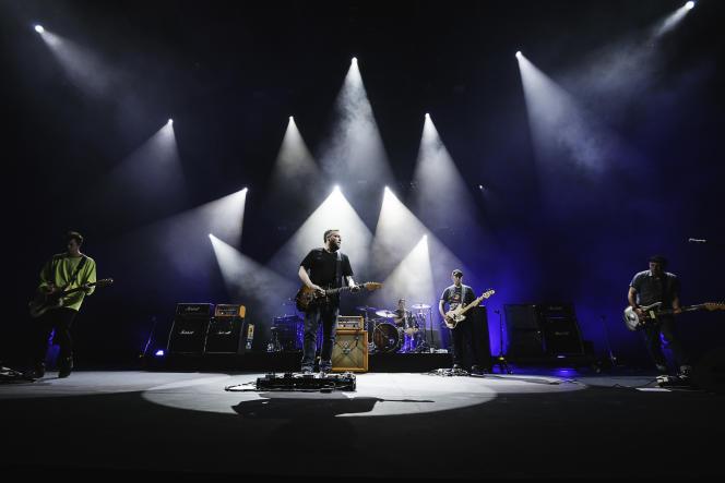 Le groupe Mogwai,le 30 juillet 2021 aux Nuits de Fourvière, à Lyon.