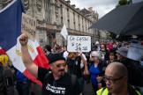 Manifestation contre l'instauration d'un passe sanitaire le 31 juillet à Paris.
