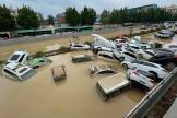 Des précipitations s'étaient abattues le 20 juillet 2021 sur la métropole de Zhengzhou, capitale de la province très peuplée du Henan.