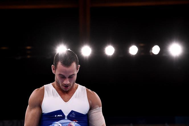 Quatrième de la finale des anneaux, Samir Aït Saïd n'est pas parvenu à accrocher son rêve de médaille.