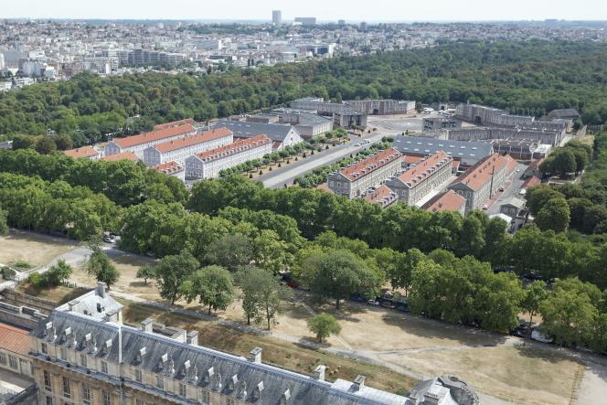 Le fort neuf de Vincennes en juillet 2015, où sera transféré le siège de la DGSE après un réaménagement de fond en comble.