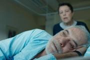 Marek Rozenbaum (Yoel Edelstein) dans «La mort du cinéma et de mon père aussi», de Dani Rosenberg.