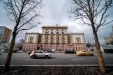 L'ambassade américaine à Moscou, le 18 mars 2021.