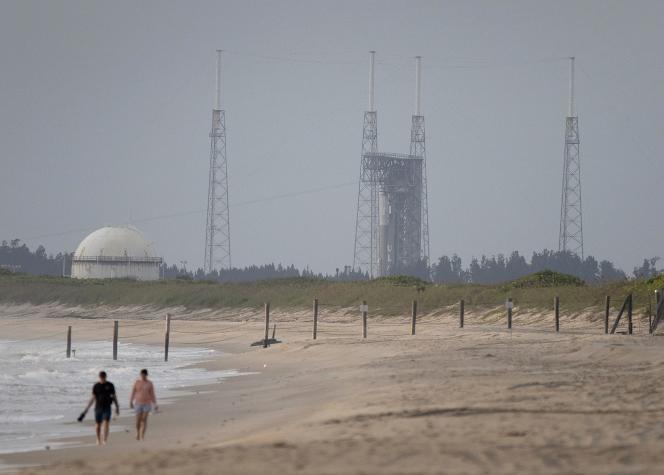 El cohete Atlas V en Cabo Cañaveral el 3 de agosto de 2021, Florida.