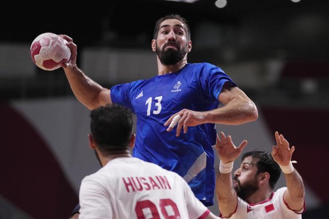 Nikola Karabatic et les handballeurs bleus affronteront l'Egypte en demi-finales, jeudi 5août à 10heures.