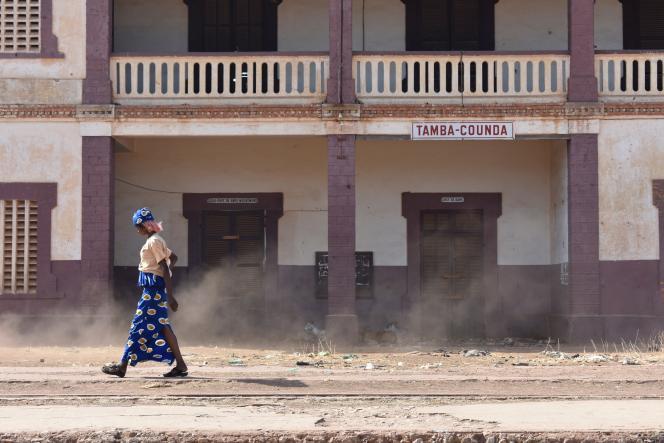 L'ancienne gare de Tambacounda, au Sénégal.