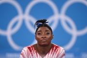 Simone Biles a abandonné le concours par équipe au milieu de la compétition des Jeux olympiques,mardi 27 juillet 2021.
