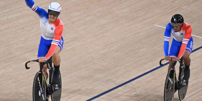 JO de Tokyo 2021: une médaille de bronze pleine de promesses pour les pistards français en vitesse par équipes