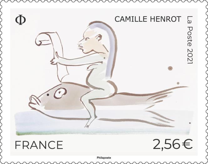 Création de Camille Henrot, mise en page Simon Dara.