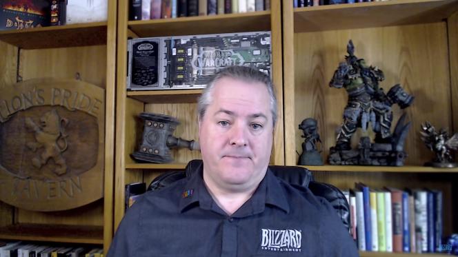 J. Allen Brack a été président de Blizzard de 2018 à 2021.