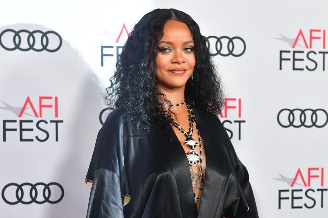 Rihanna à la cérémonie d'ouverture du festival AFI, le 14 novembre 2019, à Hollywood (Californie).