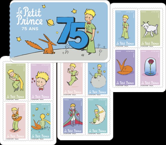 « Le Petit Prince. 75 ans», mise en page de l'oeuvre de Saint-Exupéry parDavid Benmussa.Le Petit Prince ® © Succession Antoine de Saint-Exupéry 2021