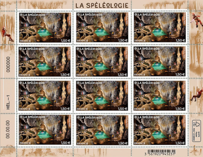 Création de Stéphanie Ghinéa, d'après des photos de Philippe Crochet. Impression: héliogravure/ Tirage: 495000 timbres.
