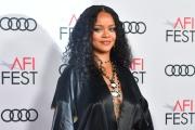 Rihanna lors la cérémonie d'ouverture du festival AFI, le 14 novembre 2019, à Hollywood (Californie).