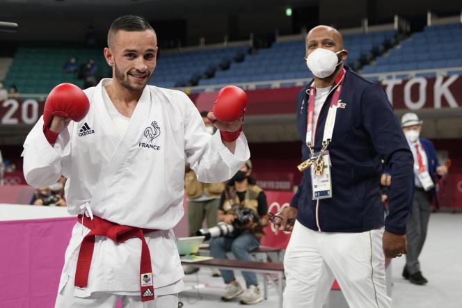 Steven Da Costa est peut-être le premier et le dernier champion olympique français de karaté, une discipline qui n'a pas été retenueaux JO de Paris 2024.
