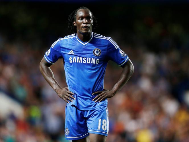 Romelu Lukaku, le 21 août 2013. Le joueur a fait partie du club de Chelsea entre 2011 et2014.