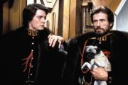 Paul Atreides et son père le duc Leto (Kyle MacLachlan et Jürgen Prochnow) dans l'adaptation de « Dune » par David Lynch (1984).