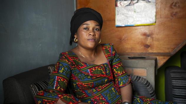 Mwamini Kanega, le 25 juin 2021 à Panzi.