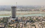 An aerial view of Baghdad, Iraq, August 11, 2021. REUTERS/Thaier Al-Sudani
