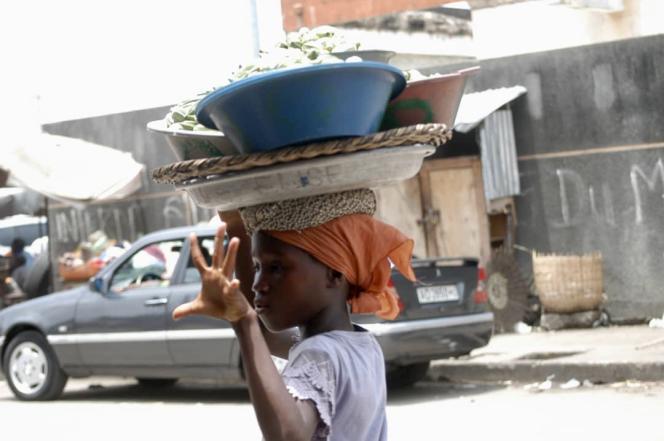 A Cotonou, en avril 2021.