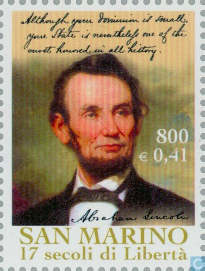 Lincoln, une« vedette» de Saint-Marin.