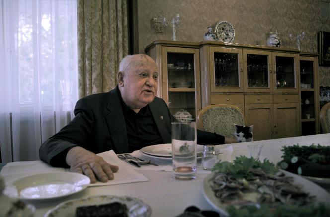 Dans le documentaire deVitaly Mansky,Mikhaïl Gorbatchev évoque l'amour qu'il porte à sa femme, Raïssa, décédée d'un cancer à Münster (Allemagne), en septembre 1999.