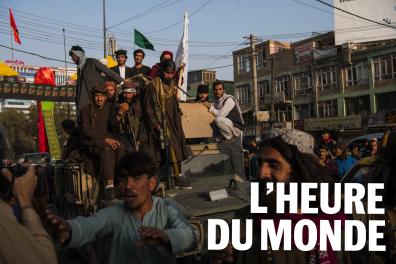 Des combattants talibans à Kaboul