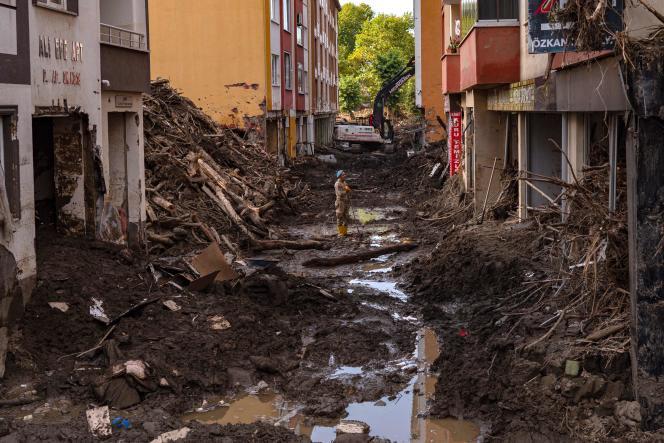 Bozkurt, dans le nord de la Turquie, le 15 août 2021.